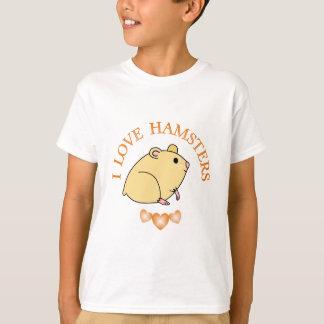 I Love Hamsters T-Shirt
