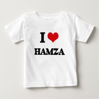 I Love Hamza Infant T-shirt