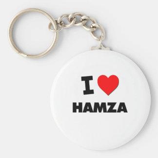I love Hamza Keychain