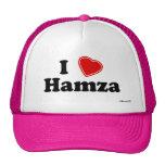 I Love Hamza Trucker Hat
