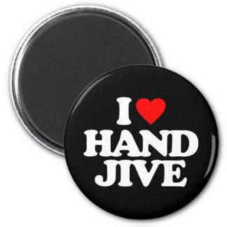 I LOVE HAND JIVE MAGNET