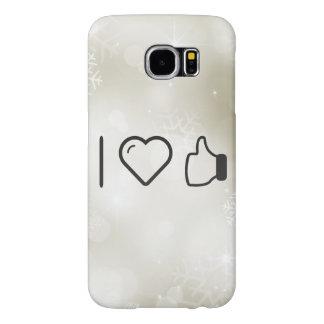 I Love Hand Okays Samsung Galaxy S6 Cases
