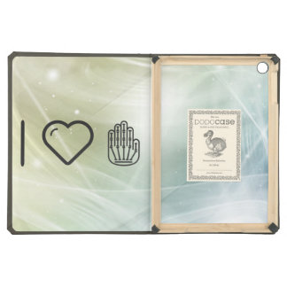I Love Hand Skeletons Case For iPad Air