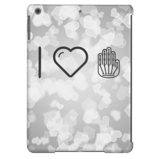 I Love Hand Skeletons iPad Air Covers