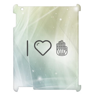 I Love Hand Skeletons iPad Cases