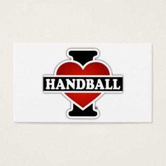 I Love Handball Business Card
