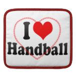 I love Handball MacBook Sleeves