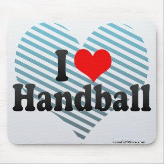 I Love Handball Mouse Pad