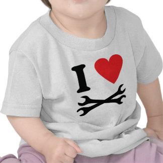 I love handcraft icon tee shirts