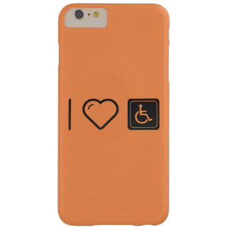 I Love Handicapped Logos Barely There iPhone 6 Plus Case