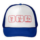 I Love Handjobs Sign Language Hat