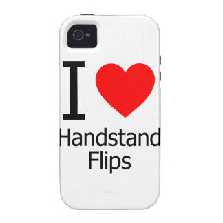 I Love Handstand Flips Vibe iPhone 4 Case