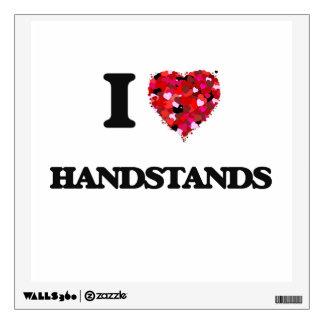 I Love Handstands Wall Graphics