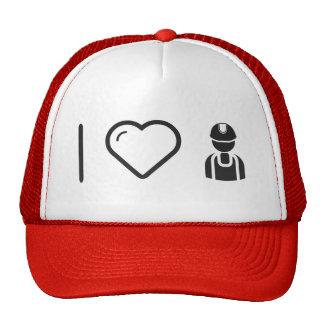 I Love Handy Mans Trucker Hat
