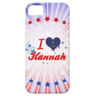 I Love Hannah, North Dakota iPhone 5 Case