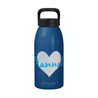 I Love Hannah Drinking Bottles