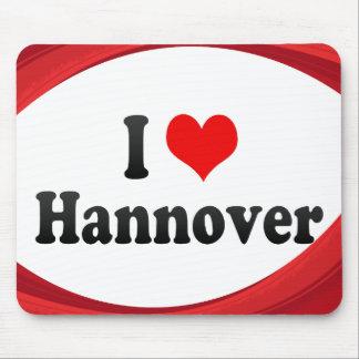 I Love Hannover, Germany Mousepad