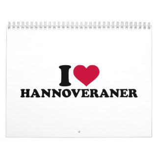 I love Hannoveraner Calendar