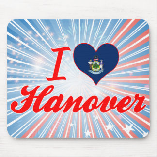 I Love Hanover Maine Mouse Pad