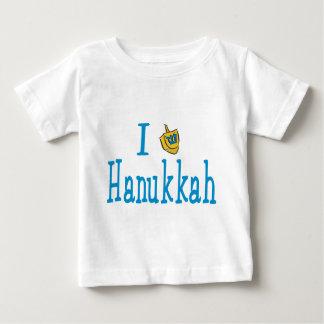 I Love Hanukkah Baby T-Shirt