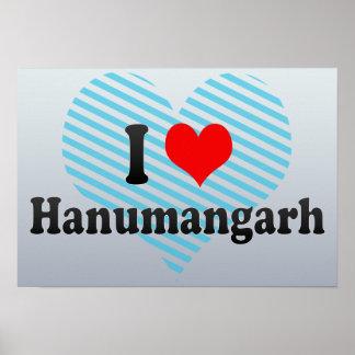 I Love Hanumangarh, India Poster