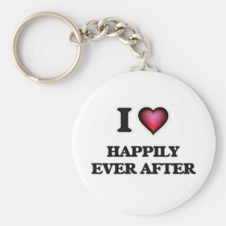 I love Happily Ever After Keychain