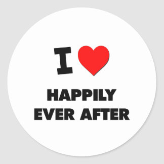 I Love Happily Ever After Stickers