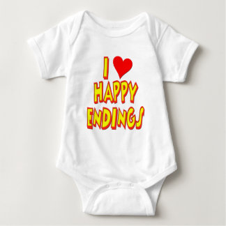 I Love Happy Endings Baby Bodysuit