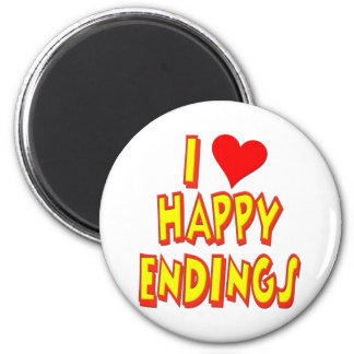 I Love Happy Endings Magnet