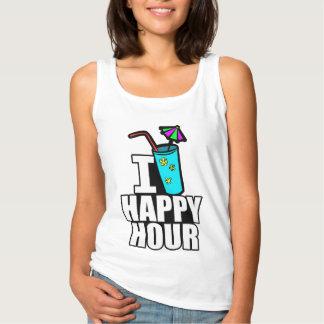 I Love Happy Hour Basic Tank Top