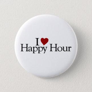 I Love Happy Hour Button