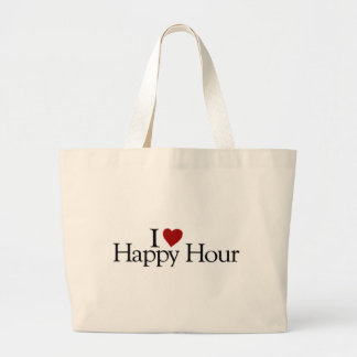 I Love Happy Hour Canvas Bag