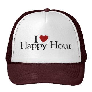 I Love Happy Hour Hats