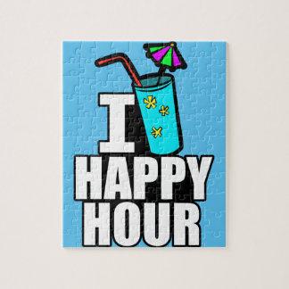 I Love Happy Hour Jigsaw Puzzle