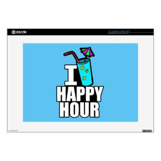 I Love Happy Hour Laptop Skins