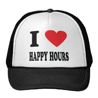 I love happy hours mesh hat