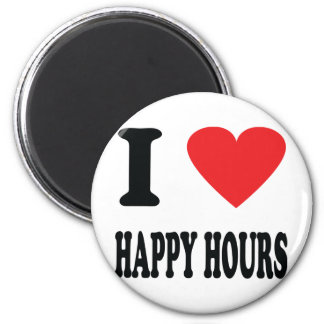 I love happy hours magnet
