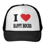 I love happy hours trucker hat