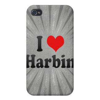 I Love Harbin, China iPhone 4/4S Cover
