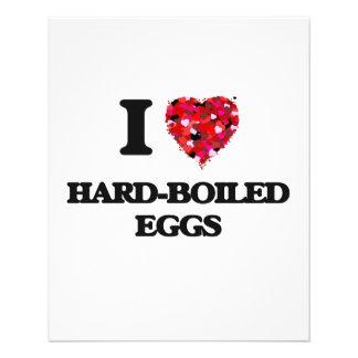 """I Love Hard-Boiled Eggs 4.5"""" X 5.6"""" Flyer"""