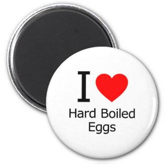 I Love Hard-Boiled Eggs Magnets
