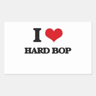 I Love HARD BOP Sticker