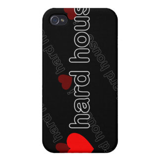 I Love Hard House DJ and Music i iPhone 4/4S Cases