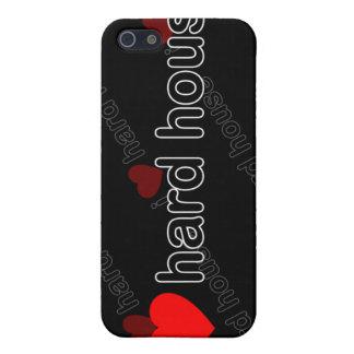 I Love Hard House DJ and Music i iPhone 5 Case
