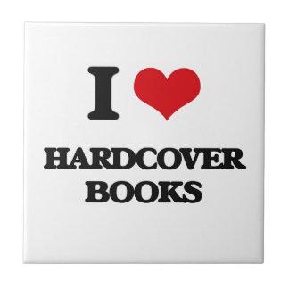 I love Hardcover Books Ceramic Tiles