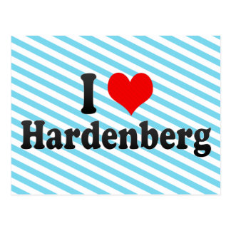 I Love Hardenberg, Netherlands Postcard