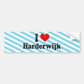 I Love Harderwijk, Netherlands Car Bumper Sticker