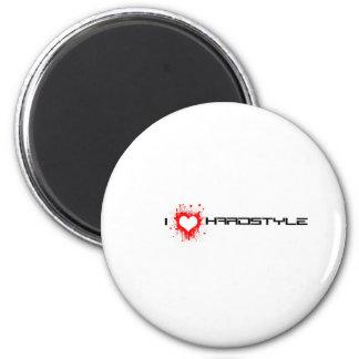 I Love Hardstyle Magnet