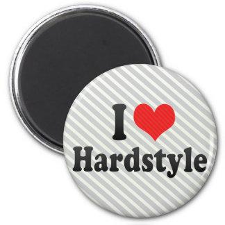 I Love Hardstyle Magnets