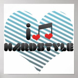 I Love Hardstyle Poster